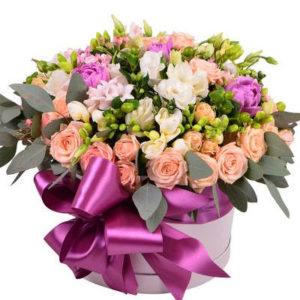 замовити Квіти в коробці «Магія»