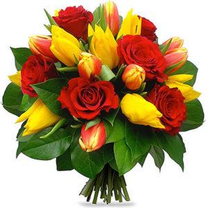 замовити Букет з тюльпанами для коханої