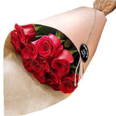 замовити 15 імпортних троянд